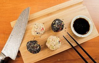 Unnamed Sush Roll Inspired Recipe - New Sushi Recipe