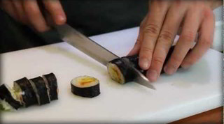 How To Cut Sushi Rolls