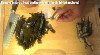 Dashi Kelp & Dried Anchovy - leftover dish - Japanese recipe