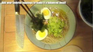 How to make Shio Ramen - Japanese recipe - no MSG ramen 簡単和風塩ラーメンレシピ