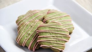 Green Tea Cookies Recipe - Japanese Cooking 101