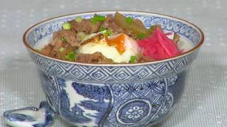 How to Make Gyudon (Beef Rice Bowl Recipe) 牛丼 作り方レシピ