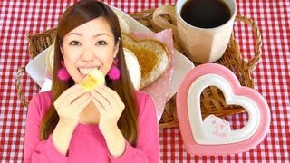 How to Make Wasabi Tuna Melt Cute Panda Sandwich サンドでパンだ 使い方 (GIVEAWAY CLOSED)