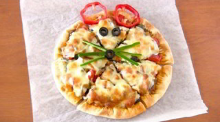 Ratatouille Pizza (How to Make Homemade Pizza from Scratch) ラタトゥイユ ピザ (レシピ)