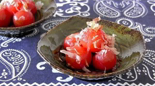 Dashi Marinated Tomatoes (Summer Treat Recipe) だしトマト (レシピ)