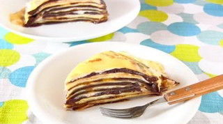 Nutella Mille Crêpe Cake (How to Make Crepes) Recipe ミルクレープ (クレープの作り方)