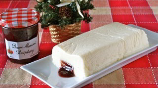 How to Make 5 Ingredients NO-BAKE Cheesecake (Christmas Cake Recipe Idea) 材料5つだけ!レアチーズケーキ (レシピ)