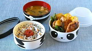 How to Make Hinomaru Bento (in Kawaii Panda Bento Box) Recipe かわいいパンダの日の丸弁当の作り方 (GIVEAWAY CLOSED)