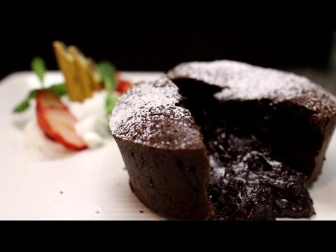 How to make Chocolate Fondant / Lava cake ショコラフォンダンの作り方