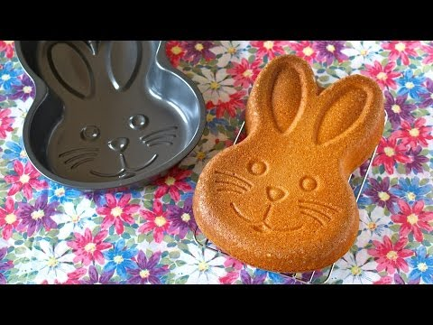 How to Make EASY Easter Bunny Butter Cake (Recipe) イースターに簡単!バターケーキ (レシピ)